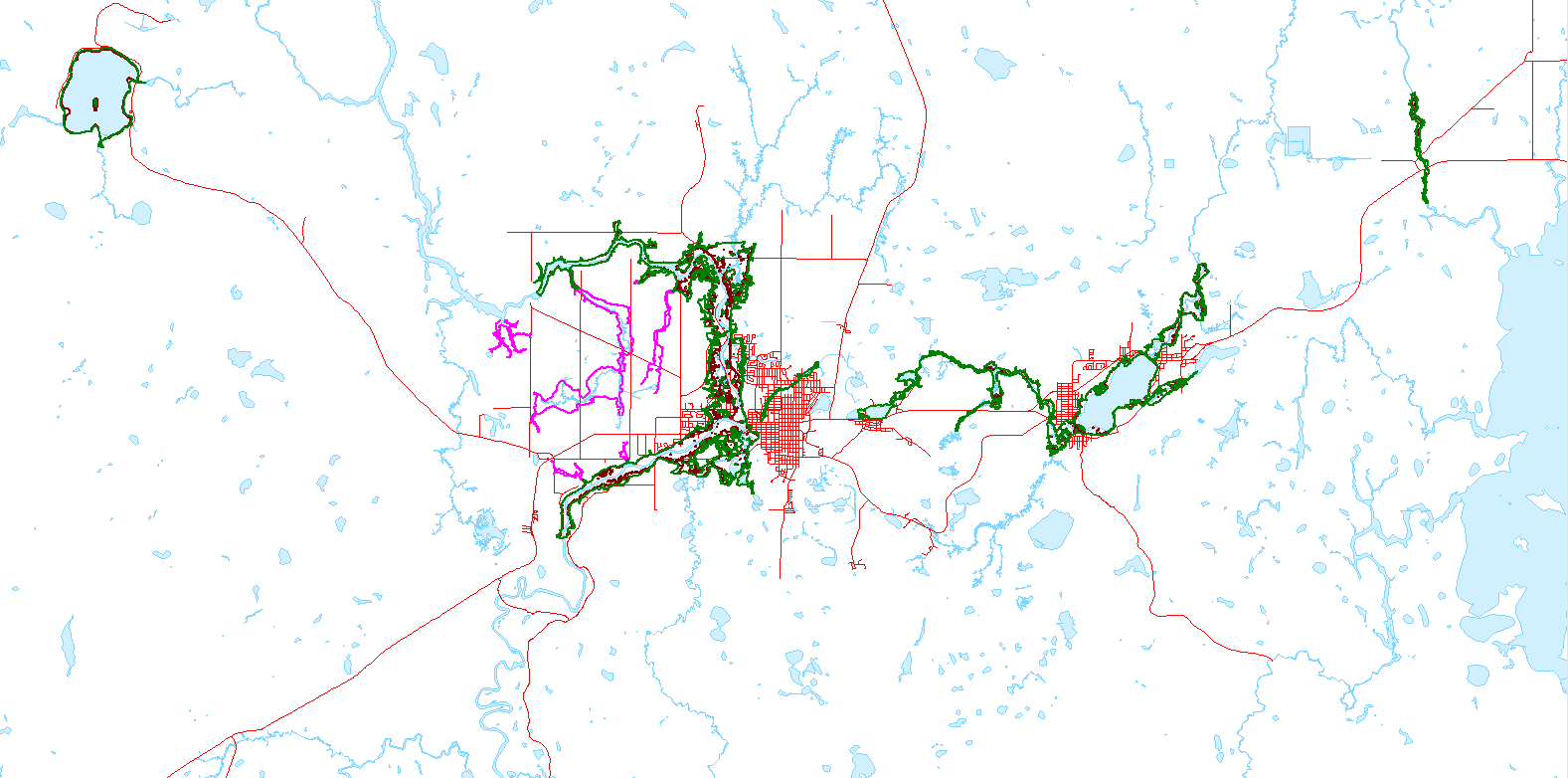 Timmins floodplain mapping