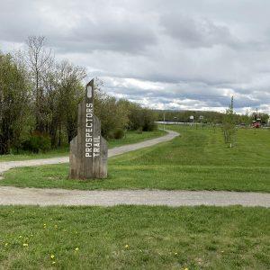 Prospector's Trail Signpost