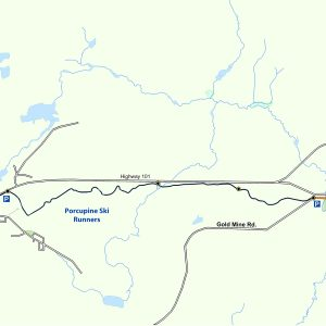 Map of the Rotary Trail