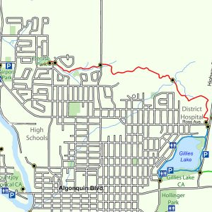 Map of the Scout Rock Trail