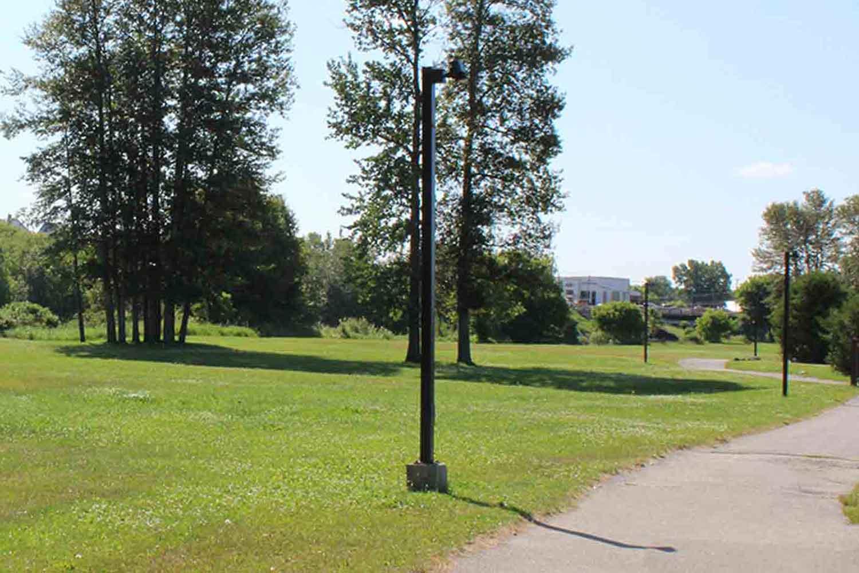 Lightpost at Mountjoy Historical Conservation Area