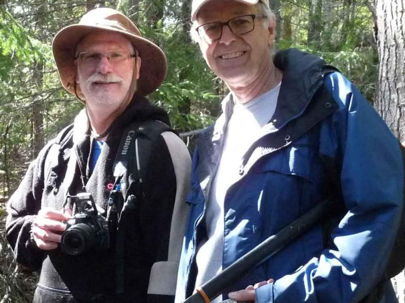 two hiking guides