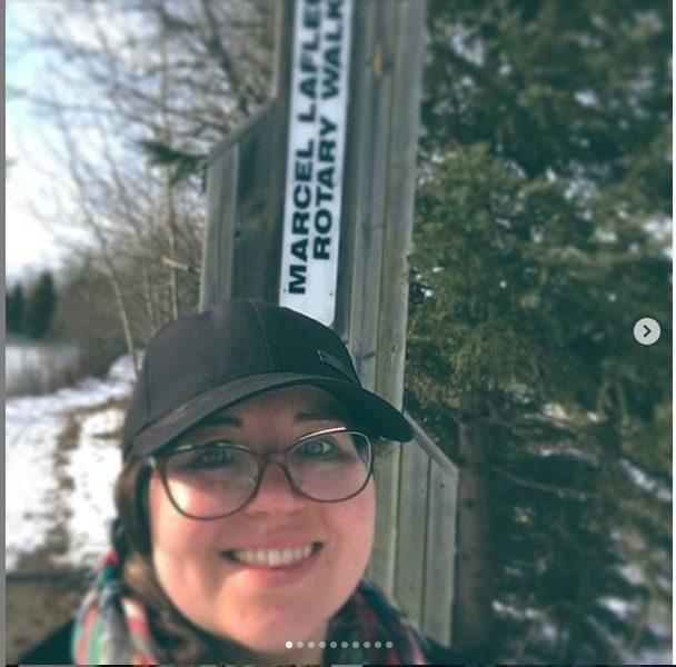 Hiking Day Contest participant at Bridge to Bridge Trail